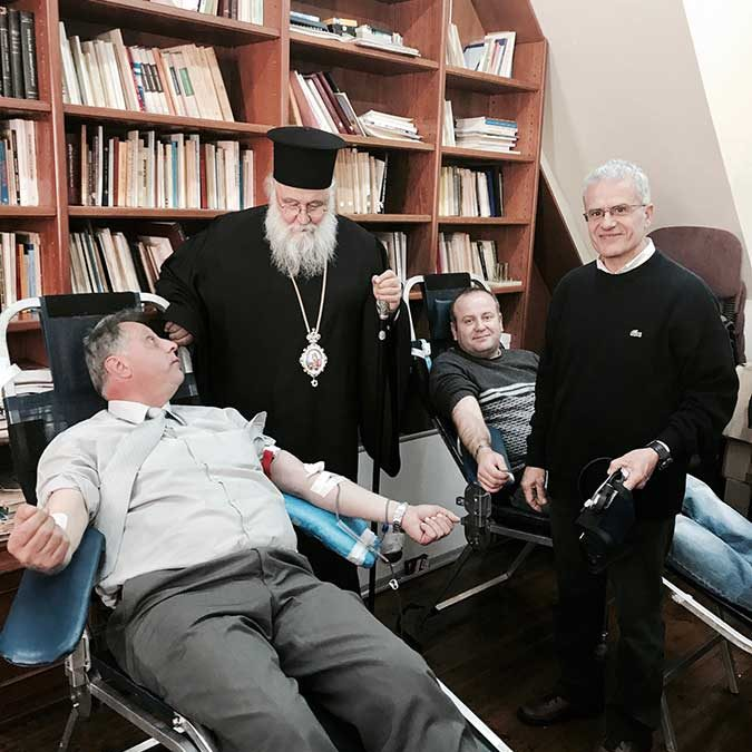 Photo of Blood Donation in the Holy Metropolis of Corfu