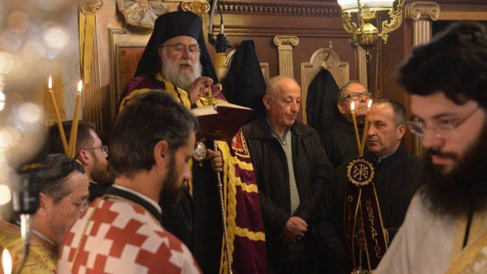 Αρχιερατικός Εσπερινός για τον Άγιο Νικόλαο στην Ι.Μ. Κερκύρας