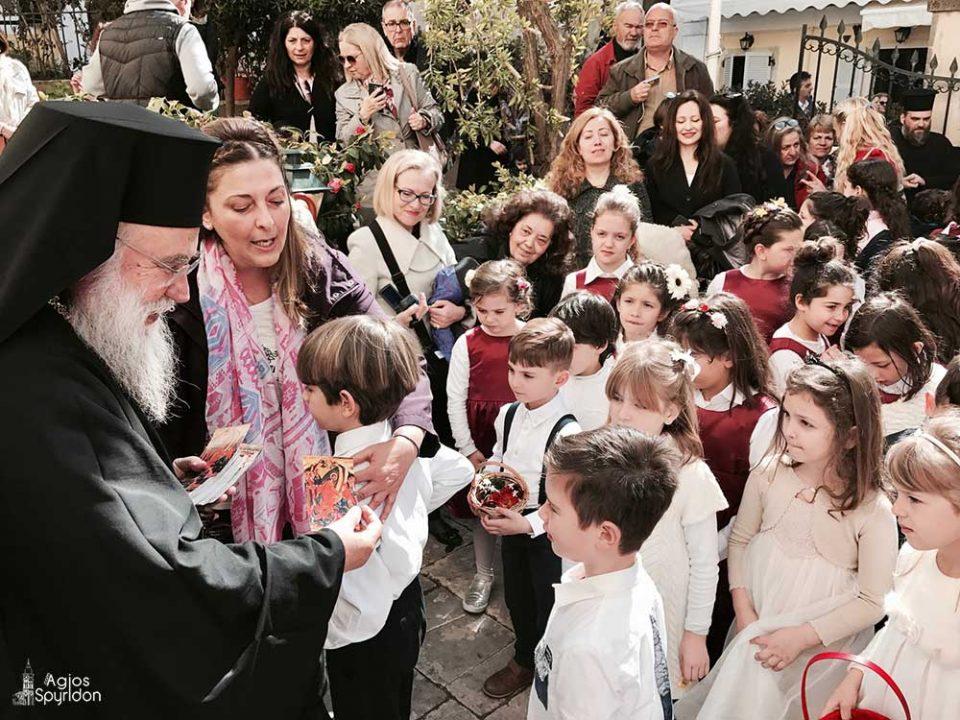 Εορτή της Εγέρσεως του Λαζάρου στην Ι.Μ. Κερκύρας