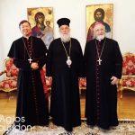Επίσκεψη του Αποστολικού Νούντσιου στον Μητροπολίτη Κερκύρας 3