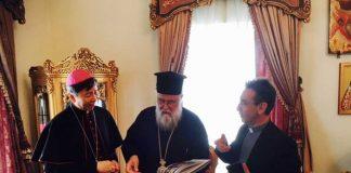 Επίσκεψη του Αποστολικού Νούντσιου στον Μητροπολίτη Κερκύρας