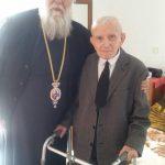 Επίσκεψη του Σεβασμιωτάτου στον αδελφό του Μακαριστού Χριστοδούλου 2