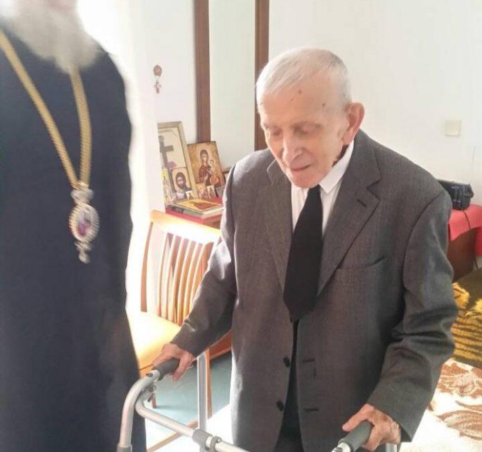Επίσκεψη του Σεβασμιωτάτου στον αδελφό του Μακαριστού Χριστοδούλου