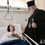 Επίσκεψη του Σεβασμιωτάτου στο Νοσοκομείο Κέρκυρας 2