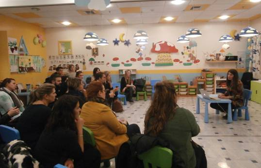 Photo of Educational Meeting with Parents
