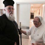 Επισκέψεις του Μητροπολίτου Κερκύρας ενόψει του Αγίου Πάσχα 2