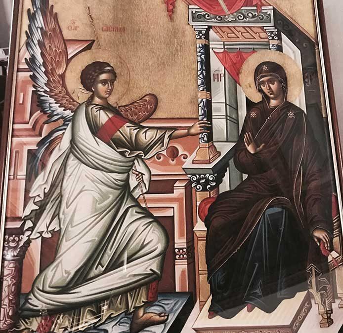 Η Εορτή του Ευαγγελισμού της Θεοτόκου στην Ι.Μ. Κερκύρας