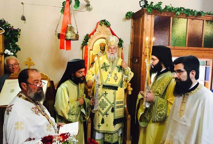 Η εορτή του Αγίου Απολλοδώρου στην Ι.Μ. Κερκύρας