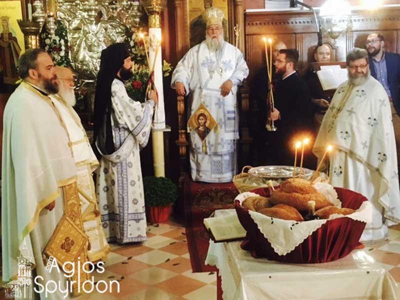 Photo of Celebrating Saint Prokopios in the Holy Metropolis of Corfu
