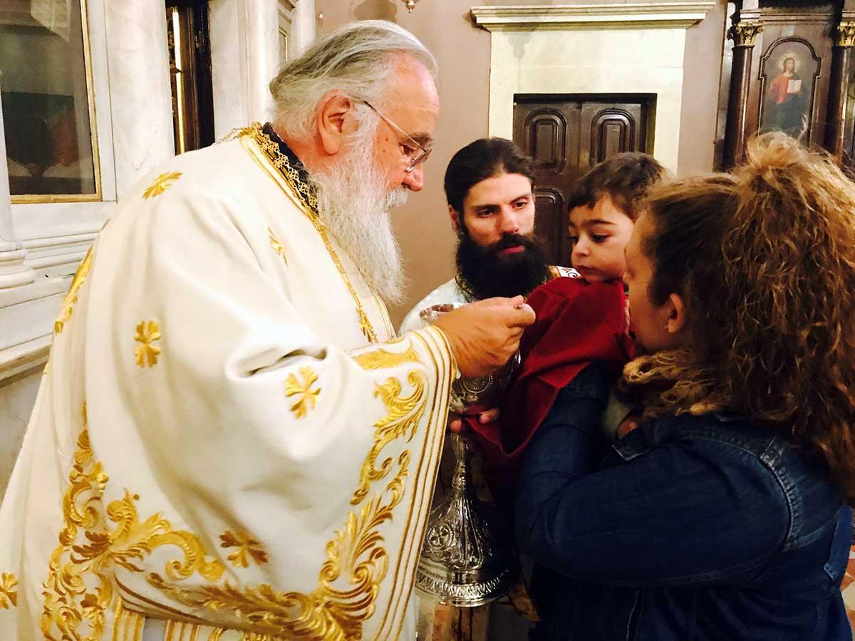 Θεία Λειτουργία στο Ιερό Προσκύνημα του Αγίου Σπυρίδωνος επί τη συμπληρώσει 15ετούς διακονίας του Μητροπολίτου Κερκύρας κ. Νεκταρίου 12