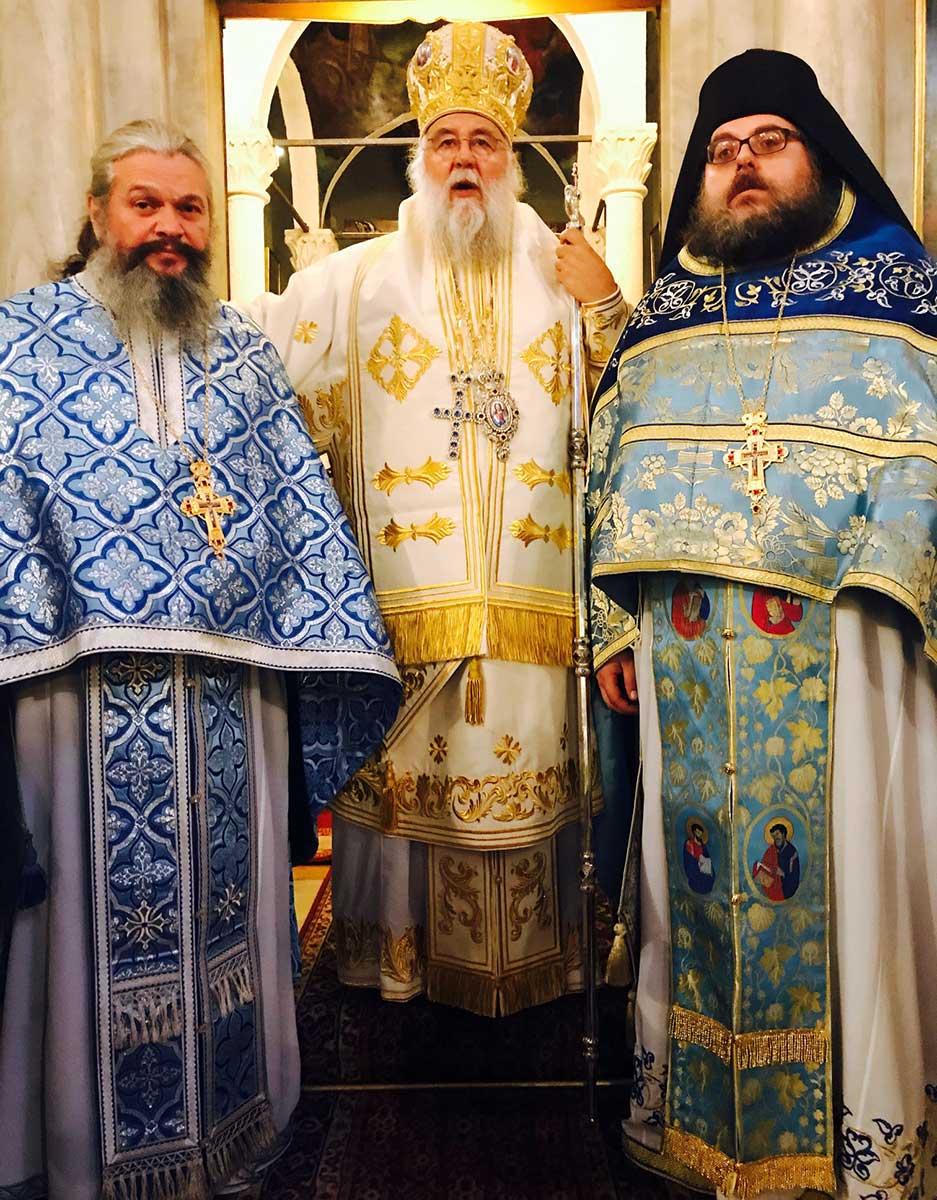 Θεία Λειτουργία στο Ιερό Προσκύνημα του Αγίου Σπυρίδωνος επί τη συμπληρώσει 15ετούς διακονίας του Μητροπολίτου Κερκύρας κ. Νεκταρίου 13