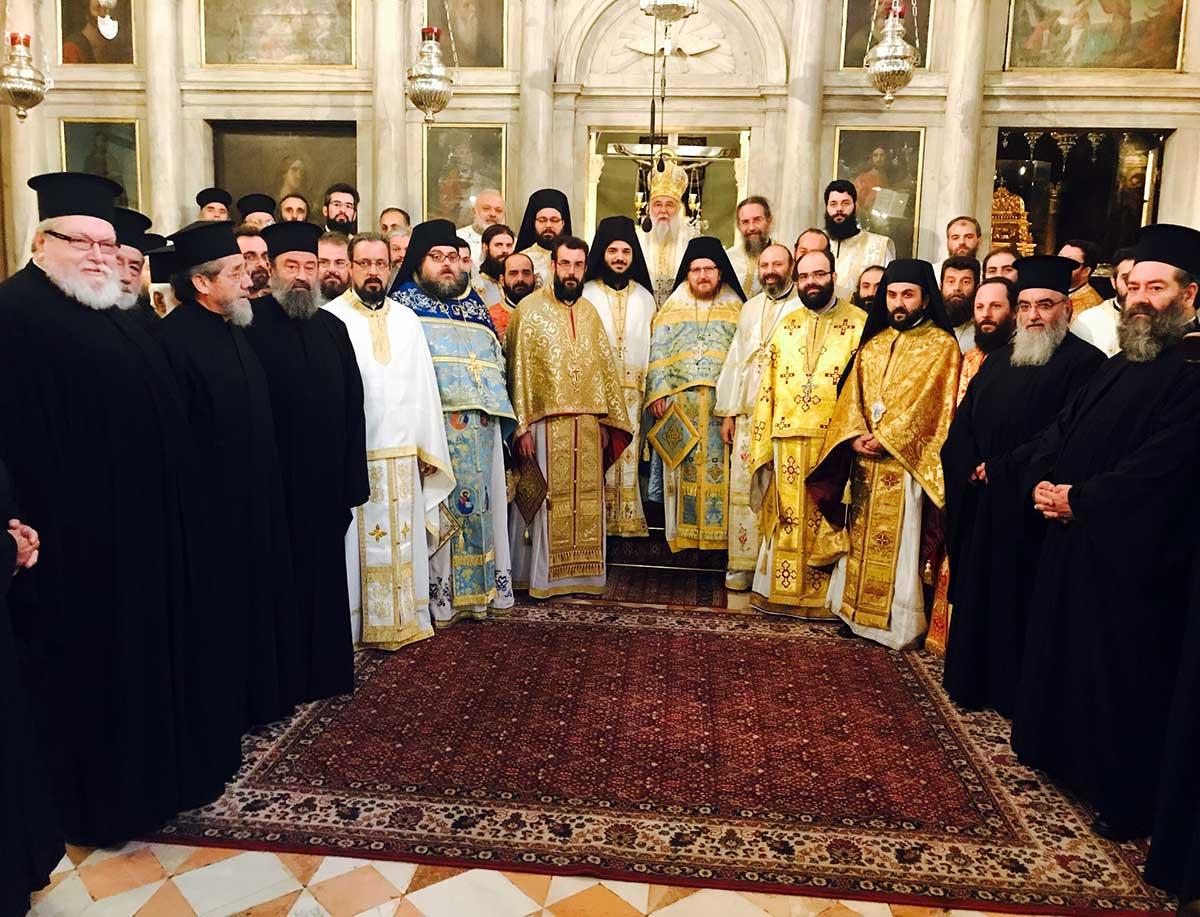 Θεία Λειτουργία στο Ιερό Προσκύνημα του Αγίου Σπυρίδωνος επί τη συμπληρώσει 15ετούς διακονίας του Μητροπολίτου Κερκύρας κ. Νεκταρίου 14