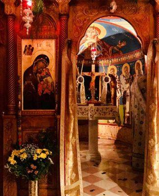 Ιερά Αγρυπνία επί τη ανακομιδή του Λειψάνου του Αγίου Νεκταρίου στην Ι.Μ. Κερκύρας