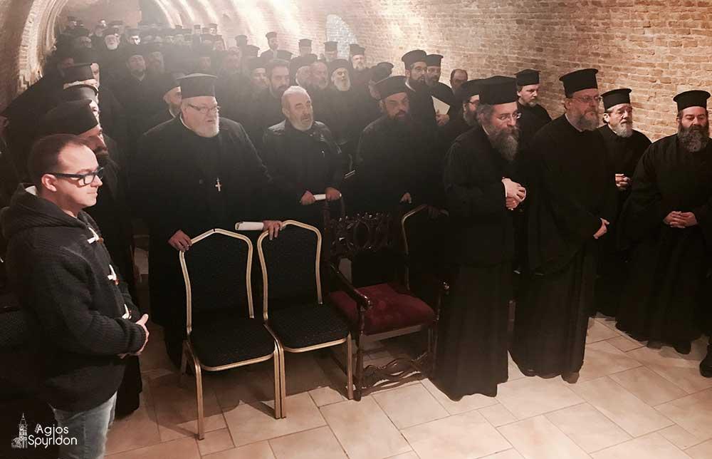 Photo of Ιερατική Σύναξη στην Ι.Μ. Κερκύρας