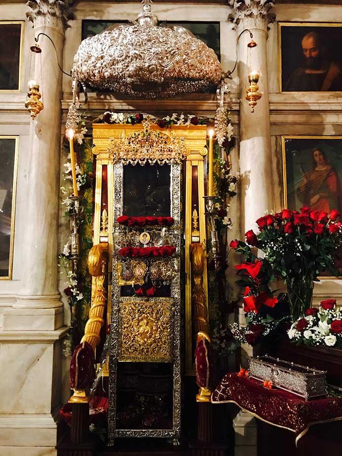 Photo of Πρόγραμμα ωρών ενάρξεως Ιερών Ακολουθιών Εορτής του θαύματος του Αγίου και Θαυματουργού Σπυρίδωνος