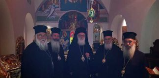 Ο Αρχιεπίσκοπος Τιράνων και πάσης Αλβανίας στην Κέρκυρα