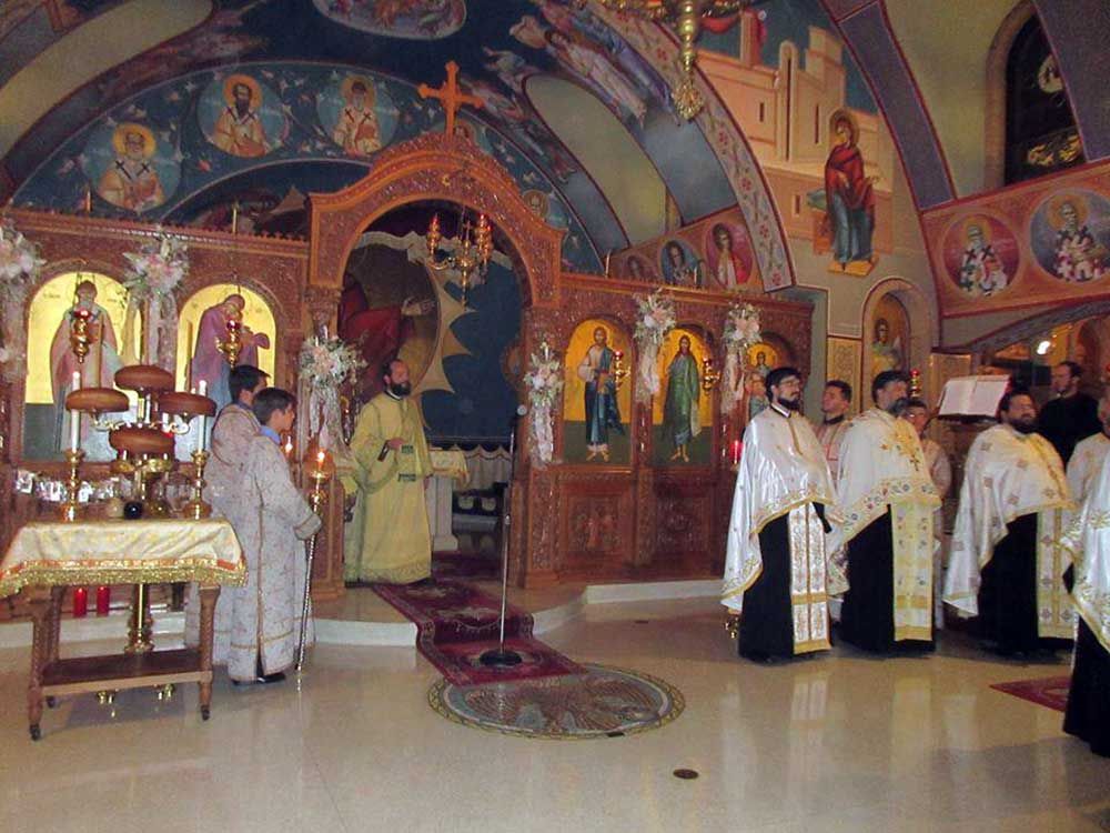 Photo of THE METROPOLITAN OF CORFU IN THE PARISH OF SAINT SPYRIDON IN CHICAGO