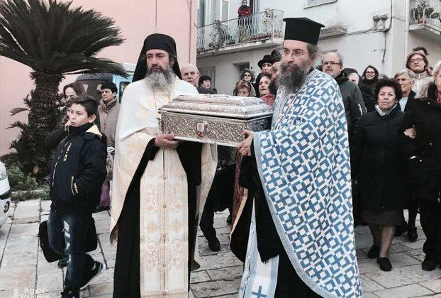 Πανηγυρικός Αρχιερατικός Εσπερινός για τον Άγιο Αρσένιο Μητροπολίτη Κερκύρας