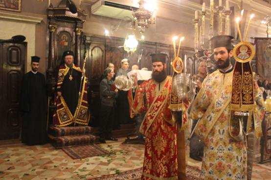 Photo of Panegyrical Archieratic Vesper in the Holy Place of Worshipping of Saint Spyridon