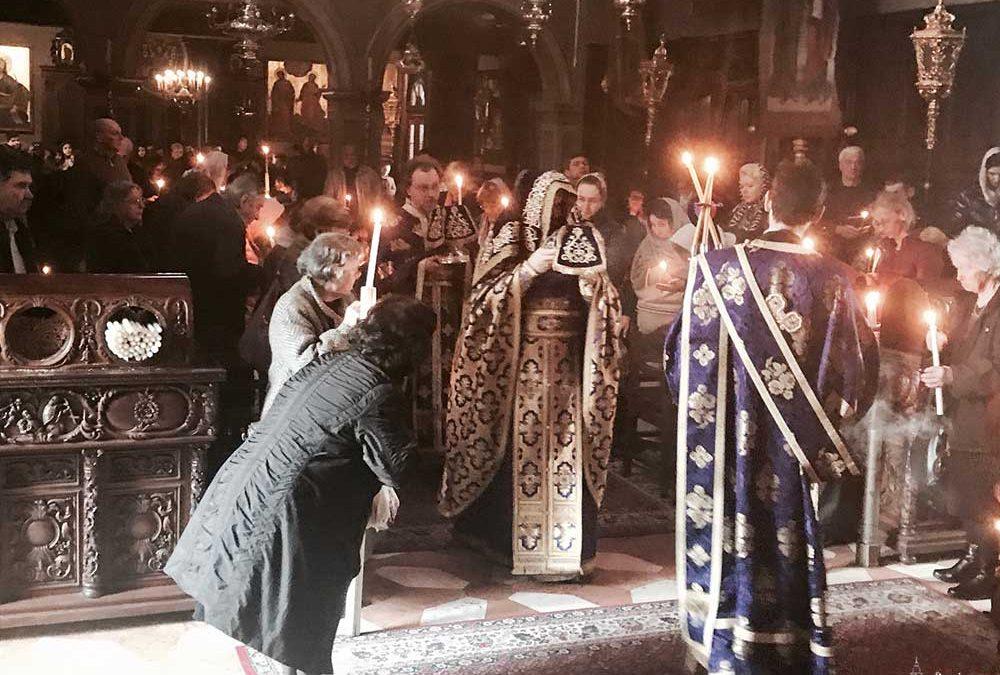 Photo of Προηγιασμένη Θεία Λειτουργία στο Ιερό Προσκύνημα του Αγίου Σπυρίδωνος