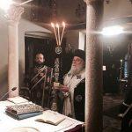 Προηγιασμένη Θεία Λειτουργία στο Ι.Π. του Αγίου Σπυρίδωνος