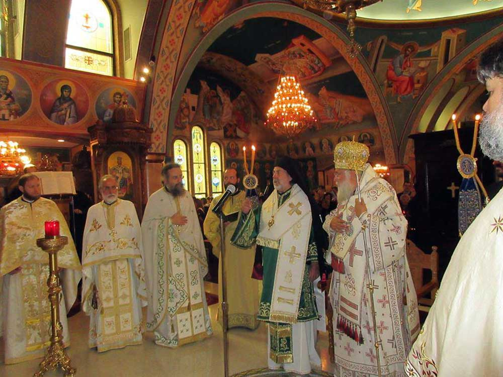 Photo of THE DEPARTURE OF SAINT SPYRIDON'S HOLY RELIC FROM CHICAGO WITH PROFOUND EMOTION