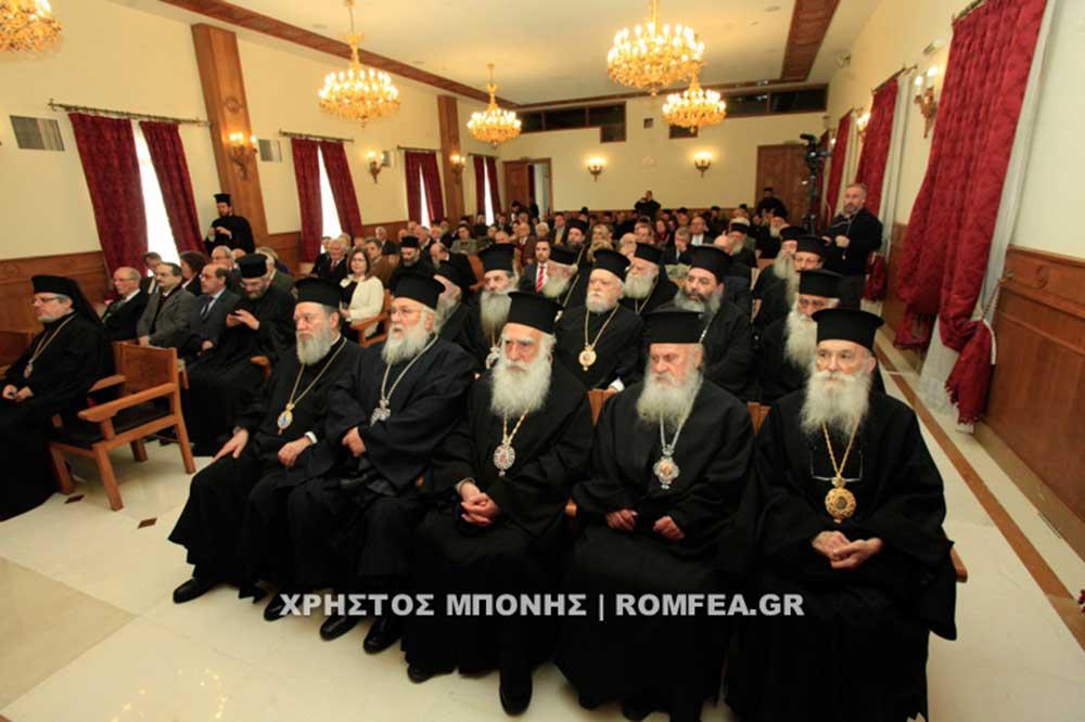 Photo of Συνοδική Θεία Λειτουργία για τον Προστάτη της Ιεράς Συνόδου (ΦΩΤΟ)