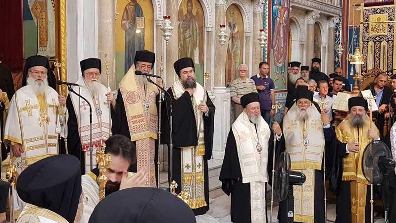 Τεσσαρακονθήμερο μνημόσυνο Μητροπολίτου Λαρίσης και Τυρνάβου κυρού Ιγνατίου
