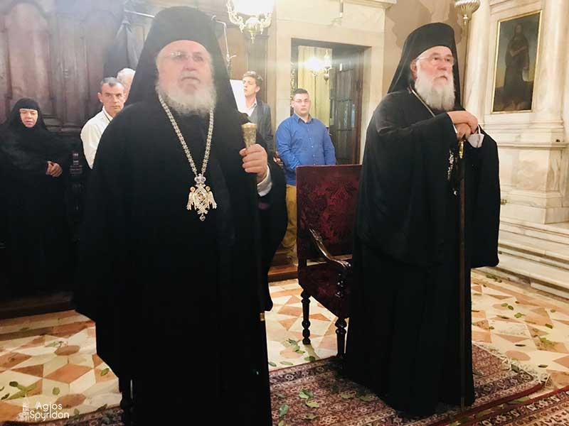 Photo of Αρχιερατικός Εσπερινός για τον Άγιο Νεκτάριο στην Κέρκυρα