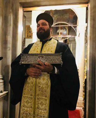 Επιστροφή της δεξιάς χειρός του Αγίου Σπυρίδωνος στην Κέρκυρα