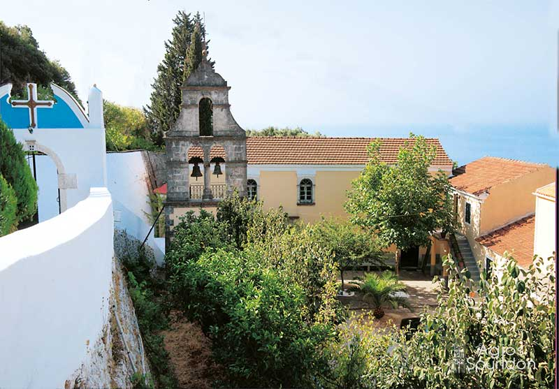 Ιερά Μονή Ἁγίας Παρασκευής Μακράδων