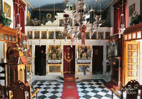 Ιερό Ησυχαστήριο της Αγίας Παρασκευής Κοινοπιαστών