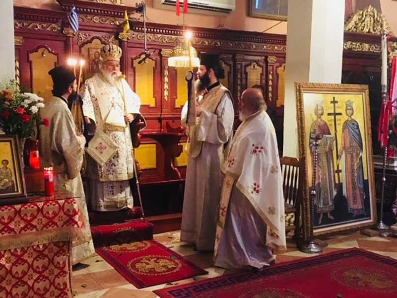 "Photo of Bishop of Corfu: ""Connecting element of our society is the Institution of Church"""