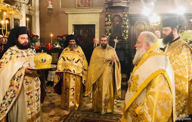 Αρχιερατική Θεία Λειτουργία στην Κέρκυρα για τον Άγιο Σπυρίδωνα