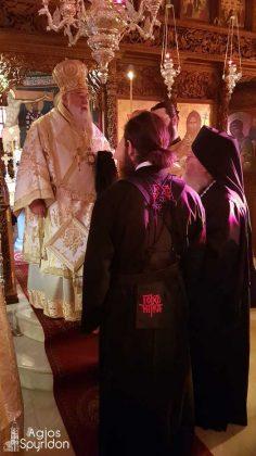 Κουρά Μεγαλόσχημου Μοναχού στην Ι.Μ. Κερκύρας