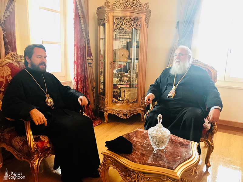 Photo of The Bishop of Volokolamsk Mr. Ilarion in Corfu