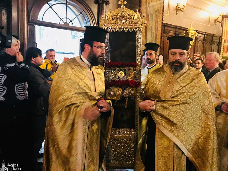 Photo of The Basmata (Redesposition of the relic in its position) of Saint Spyridon