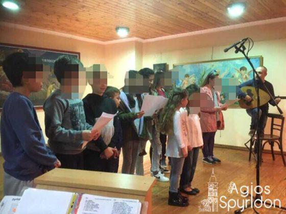 Χριστουγεννιάτικη γιορτή Κατηχητικών Σχολείων Αρχιερατικής Περιφέρειας Λευκιμμαίων