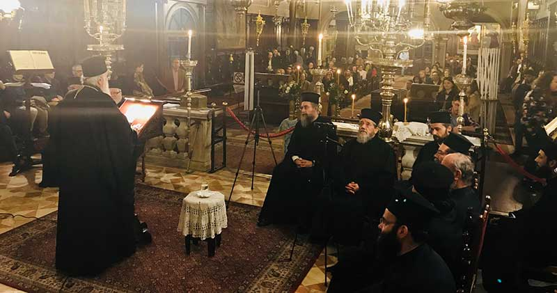 Photo of Speech of the Bishop Mr. Nektarios on 24.3.2019 (video)