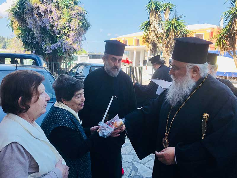 Photo of Visits of His Eminence on the occasion of Holy Easter