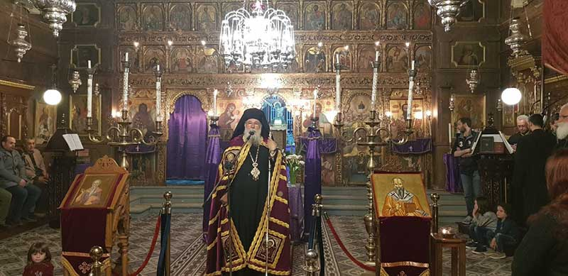 Photo of The Fourth Part of the Akathist Hymn and the Small Compline in the H.M. of Corfu
