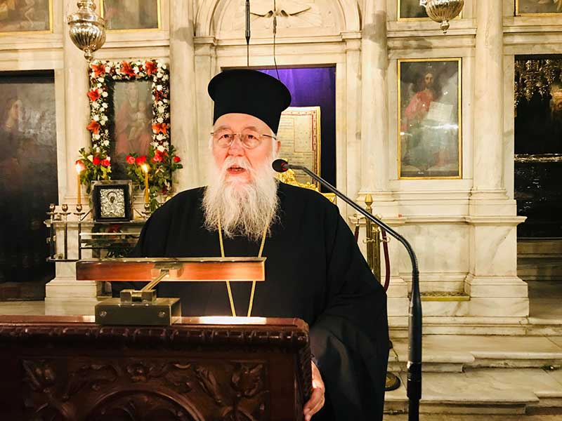 Photo of Speech of His Eminence, the Bishop, Mr. Nektarios, 14.04.2019