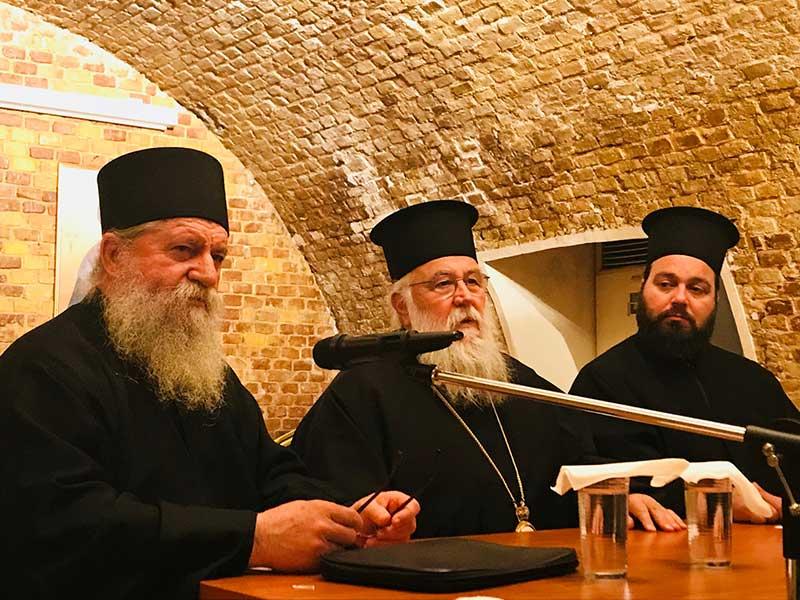 Photo of Ιερατική Σύναξη της Ι.Μ. Κερκύρας 8.4.2019