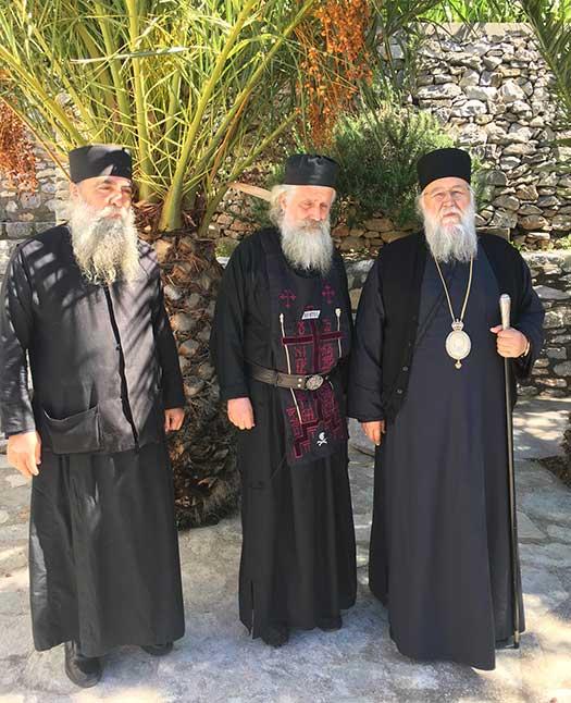 Κουρά Μεγαλόσχημου Μοναχού στην Νέα Σκήτη του Αγίου Όρους