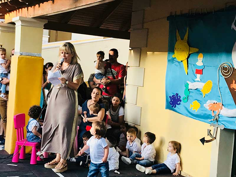 "Photo of Summer Feast of the Kindergarten School ""Eleni Bellou"" in the Holy Metropolis of Corfu"
