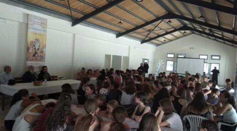 Ο Μητροπολίτης Κερκύρας στις κατασκηνώσεις στην Κασσιώπη8
