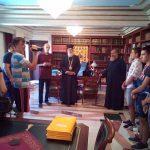 Επίσκεψη μαθητών από το Πατριαρχείο Σερβίας στον Μητροπολίτη Κερκύρας