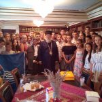 Επίσκεψη μαθητών από το Πατριαρχείο Σερβίας στον Μητροπολίτη Κερκύρας3