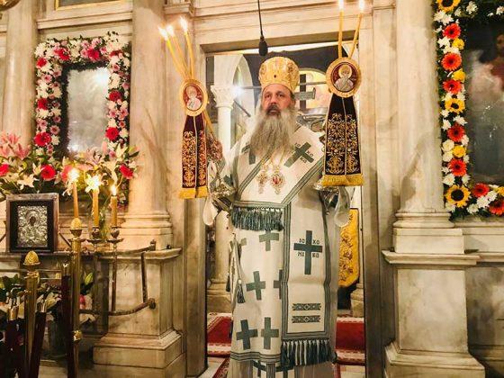 Η λιτάνευση του Ιερού Σκηνώματος του Αγίου Σπυρίδωνος της 11ης Αυγούστου11