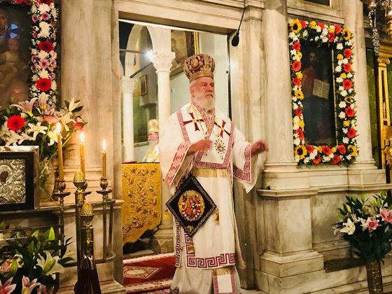 Η λιτάνευση του Ιερού Σκηνώματος του Αγίου Σπυρίδωνος της 11ης Αυγούστου13